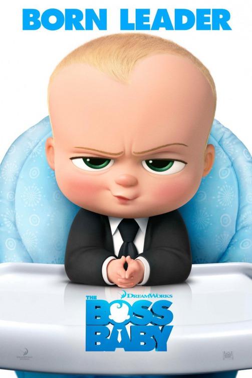 Boss Baby movie poster