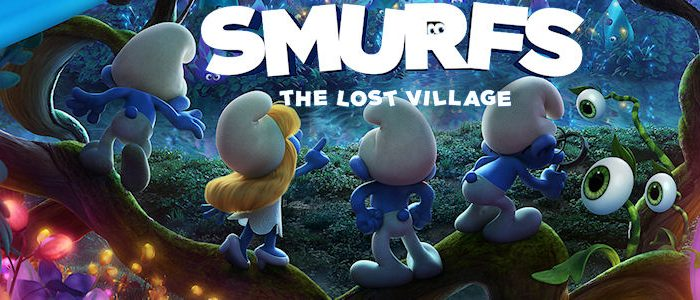 Smurfs the Lost Village movie poster