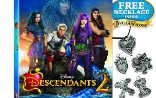 Win Disney Channel's Descendants 2 on DVD ~ 5 winners!