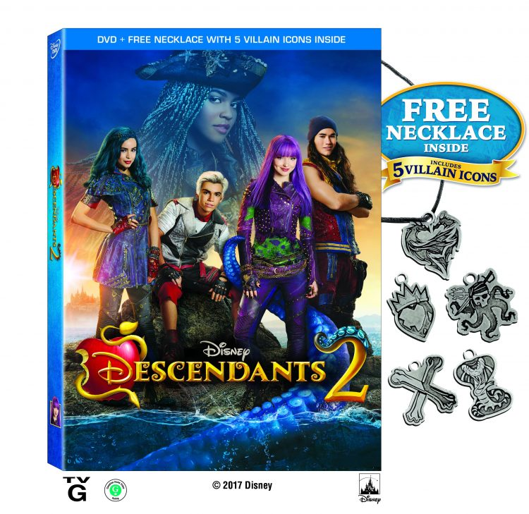 Disney Channel's Descendants 2 on DVD