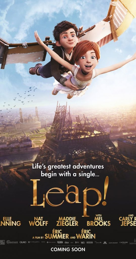 Leap! ballerina movie poster