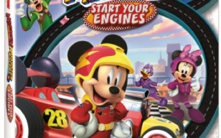 Mickey and the Roadster Racers: Start Your Engines (Review and activity sheets)