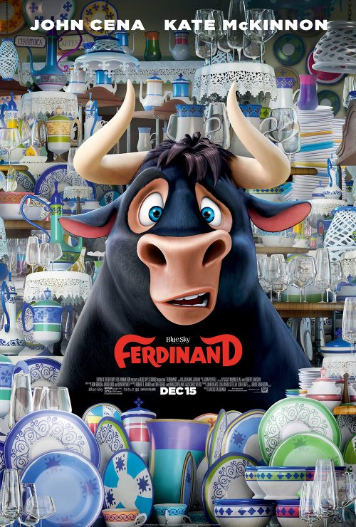 Ferdinand movie poster - Bull in a china shop