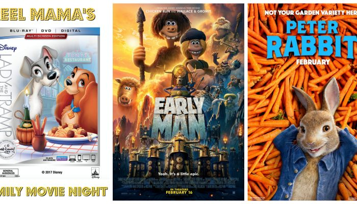 Family Movies February 2018: Early Man, Peter Rabbit, Lady and the Tramp