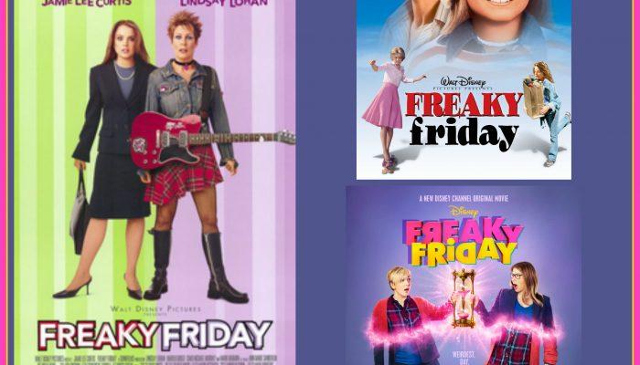 Freaky Friday family movie night