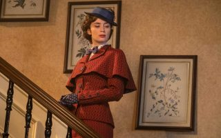 Emily Blunt is Mary Poppins in Disney's MARY POPPINS RETURNS, a sequel to the 1964 film MARY POPPINS, which takes audiences on an all-new adventure with the practically perfect nanny and the Banks family.