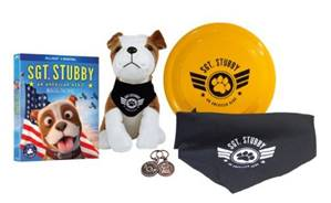 Enter to win SGT. STUBBY prize pack: A great stocking stuffer for kids!