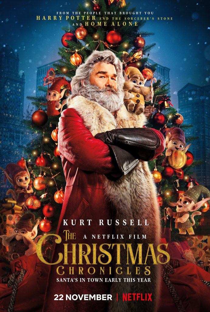 The Christmas Chronicles on Netflix starring Kurt Russell