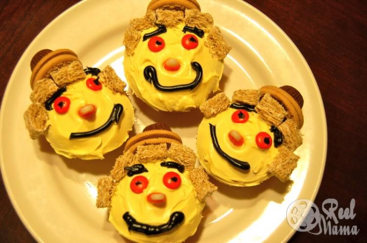 Scarecrow Cakes Cupcake