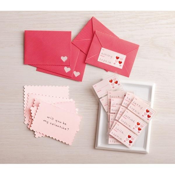 DIY Valentine's Day Card Kit From Martha Stewart Crafts