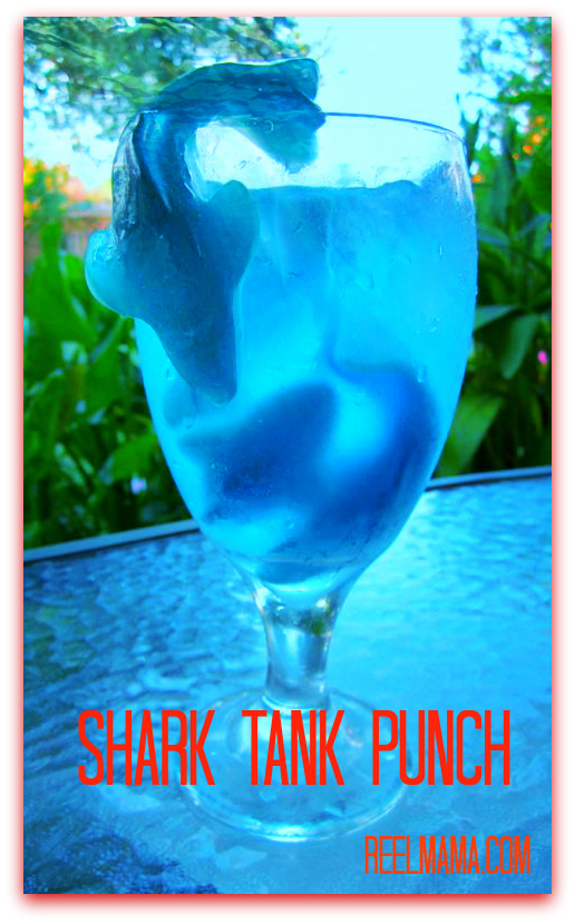 Shark tank punch gummy shark drink kids will love for Fun alcoholic drinks to make