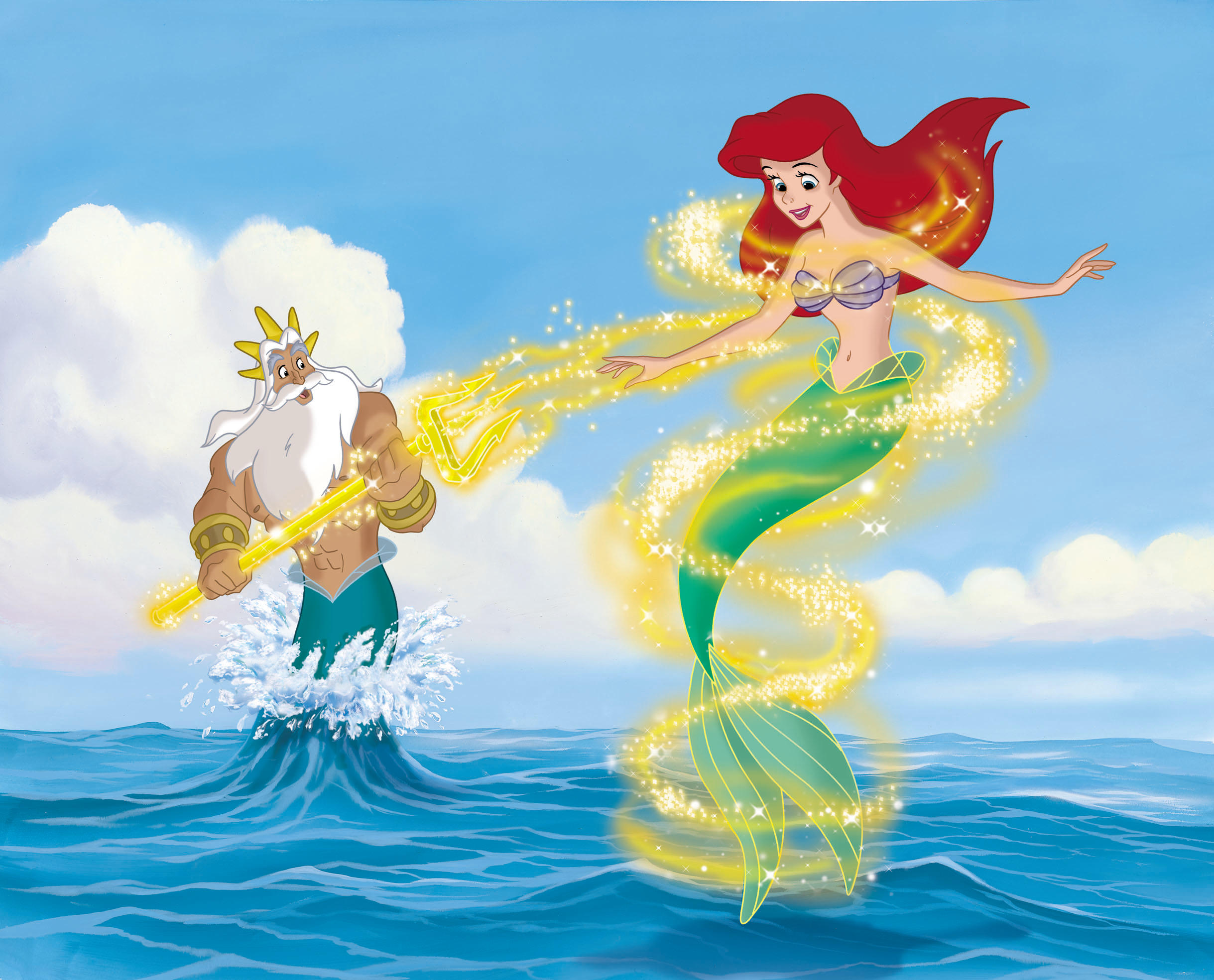 the little mermaid ii and the little mermaid ariels beginning review