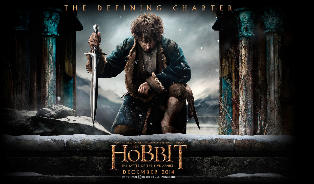 the hobbit battle of the five armies and mr turner sneak