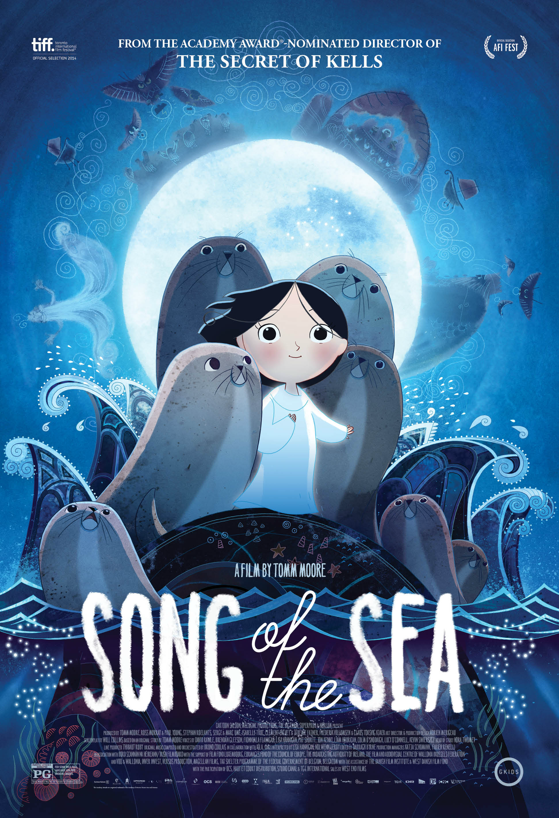 Song Of The Sea Movie A Magical Animated Story Irish Folklore