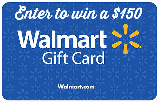Enter to win a 150 walmart gift cards 4 winners ends 102015 walmart gift card for 150 negle Images