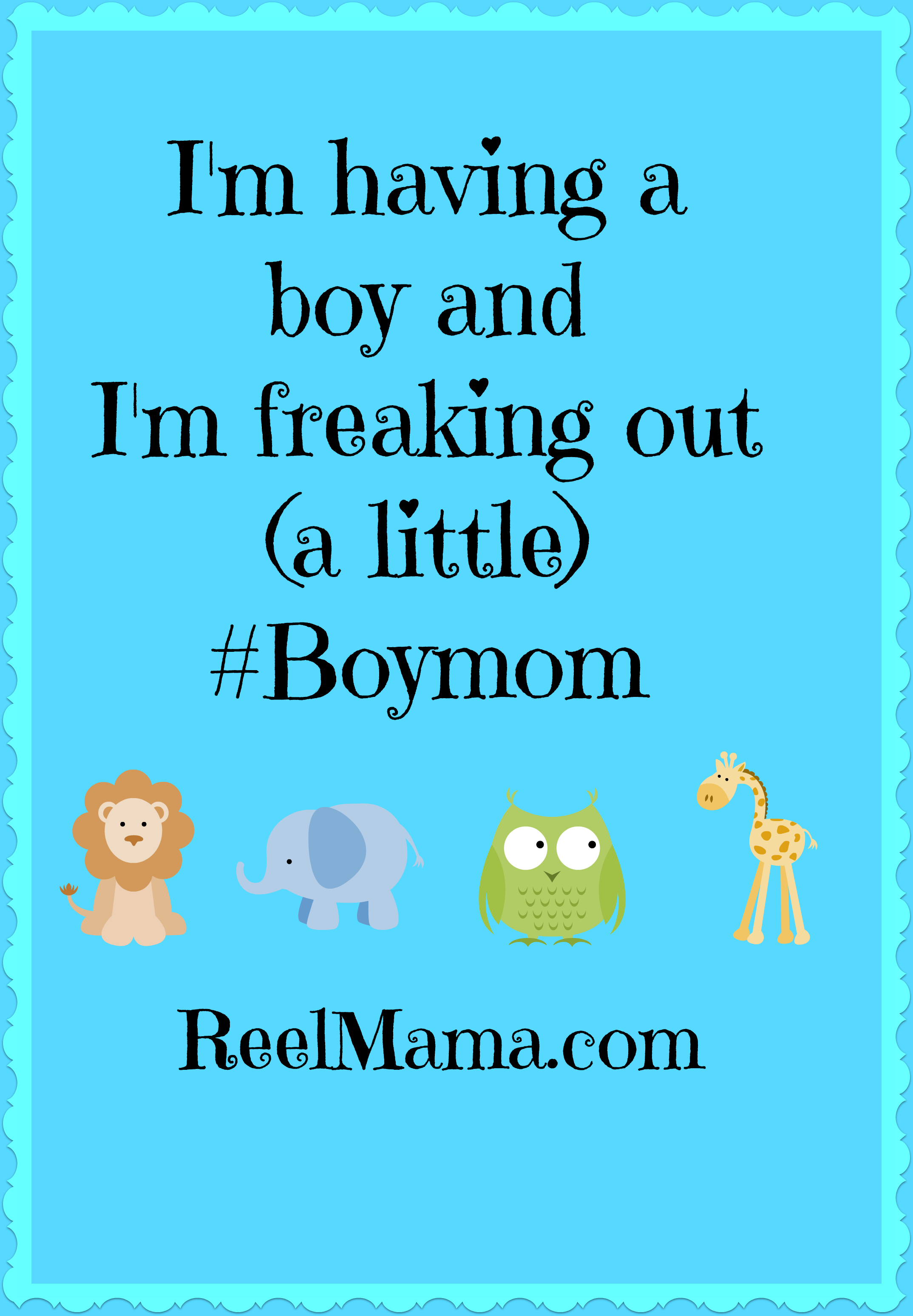 i m having a boy and i m freaking out a little boymom