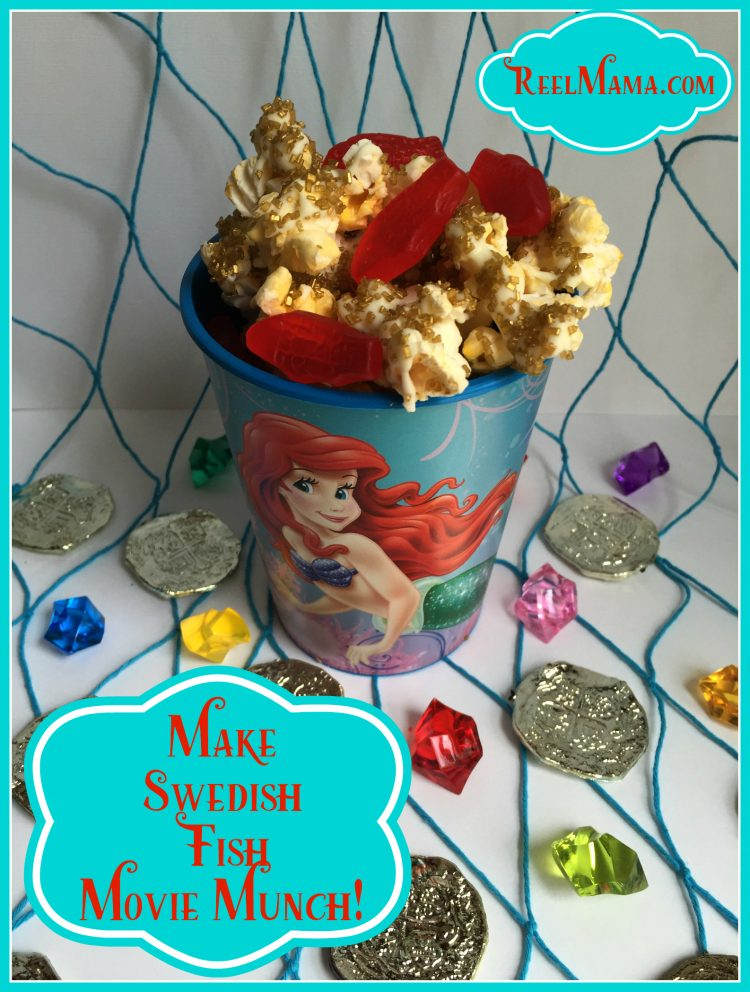 Little mermaid family movie night with swedish fish movie for Who makes swedish fish