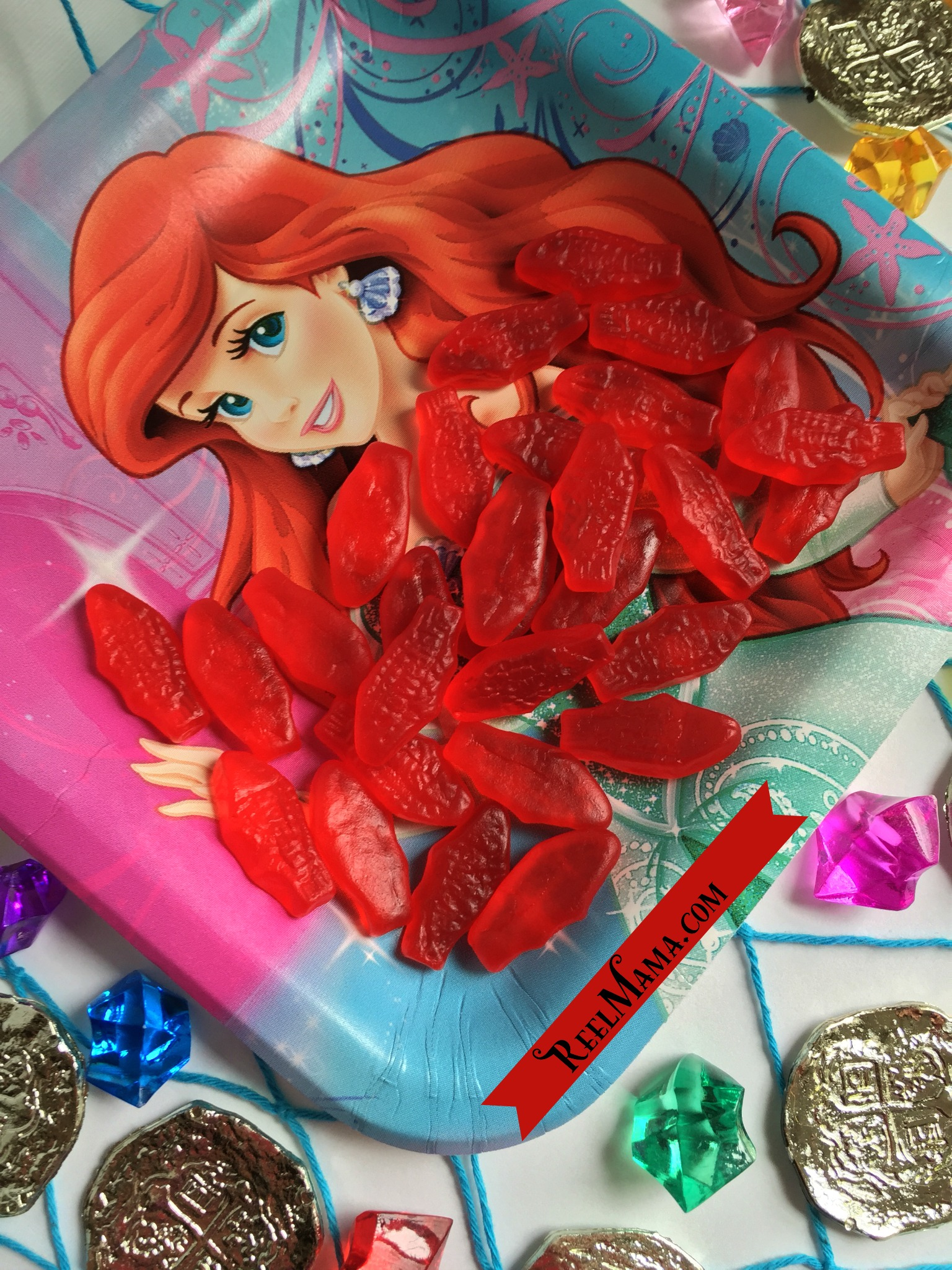 Little mermaid family movie night with swedish fish movie for The little mermaid fish