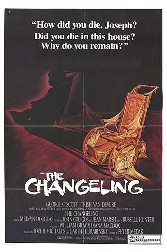 Best Ghost Movies, Awesome Ghost Movies, Cool Ghost Movies, Scary Ghost Movies, Halloween Ghost Movies, Ghost Movies, The Changeling, George C. Scott, Trish Van Devere