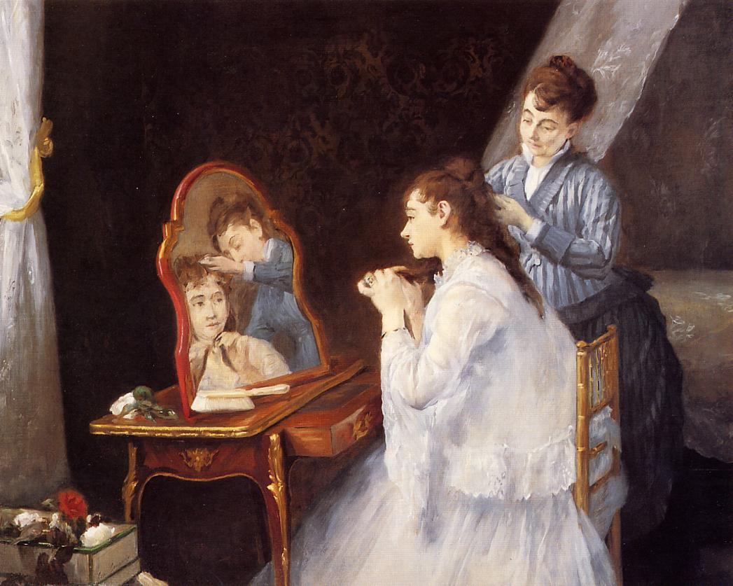 La Toilette, Art by Women, Toilet, Dressing Room, Dressing Table