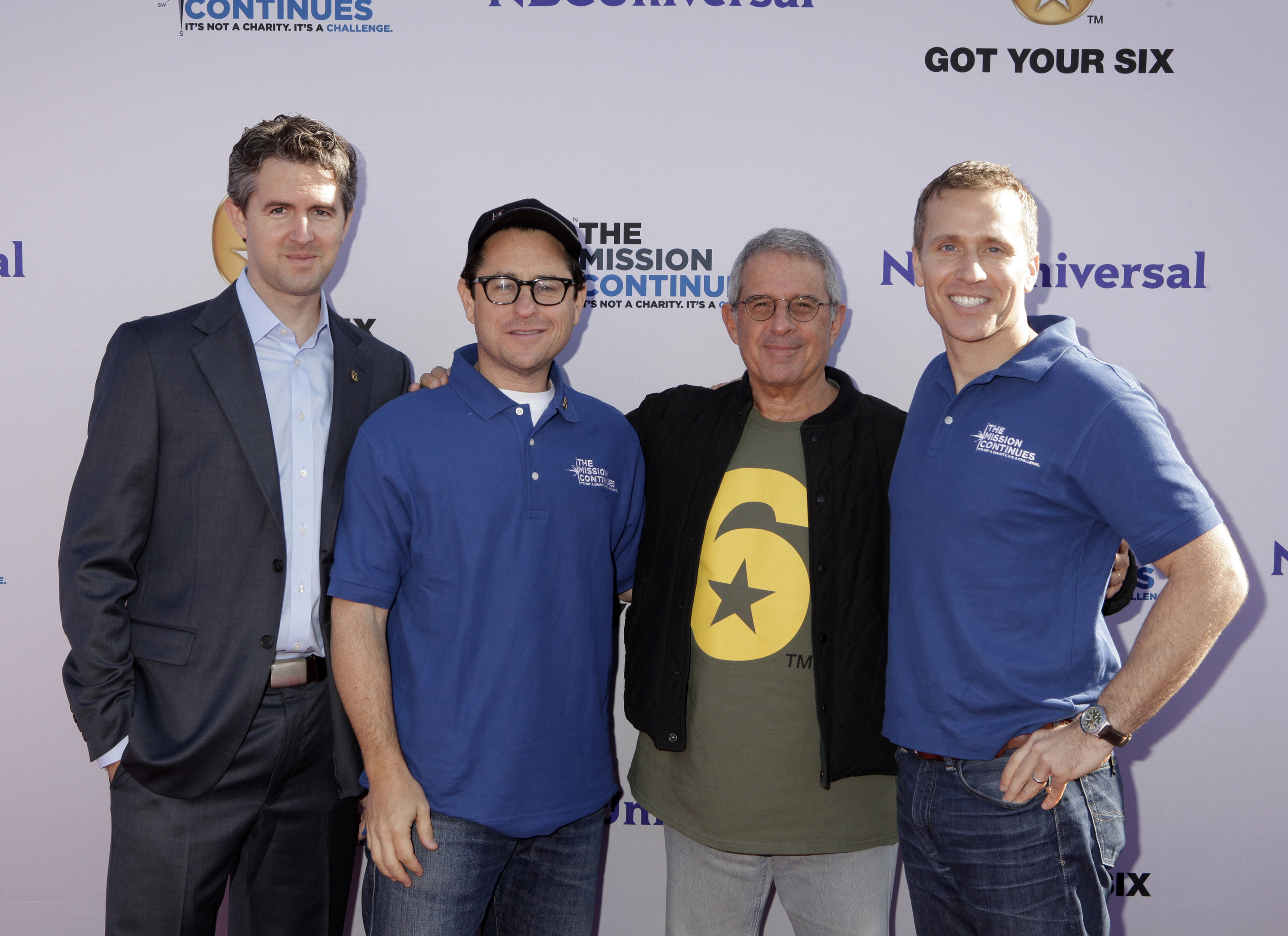 Chris Marvin, J.J. Abrams, Ron Meyer, Eric Greitens, NBCUniversal Events, The Mission Continues, Got Your 6, Veterans, Service Project, Veterans Day, Veterans Day Weekend, Childhood Hunger