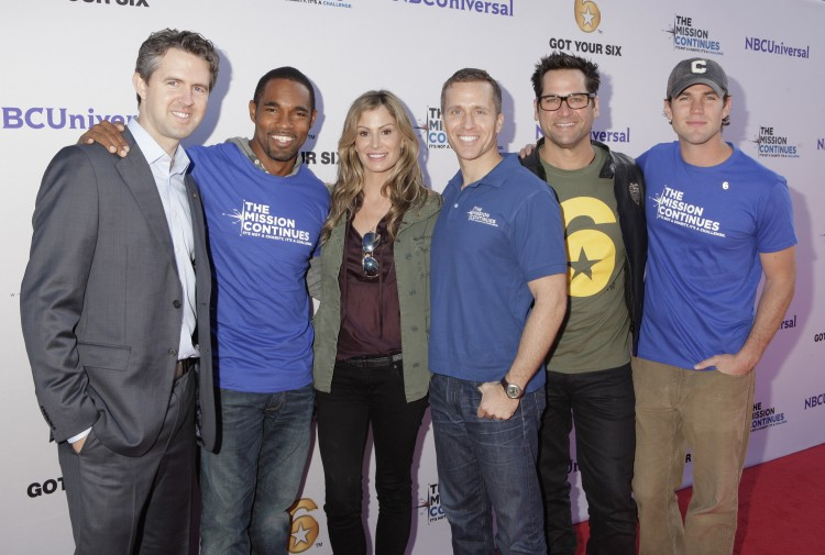 NBCUniversal Events, The Mission Continues, Got Your 6, Veterans, Service Project, Veterans Day, Veterans Day Weekend, Childhood Hunger, Chris Marvin, Jason George, Tracy Huston, Eric Greitens, Johnny Littlefield, Austin Stowell