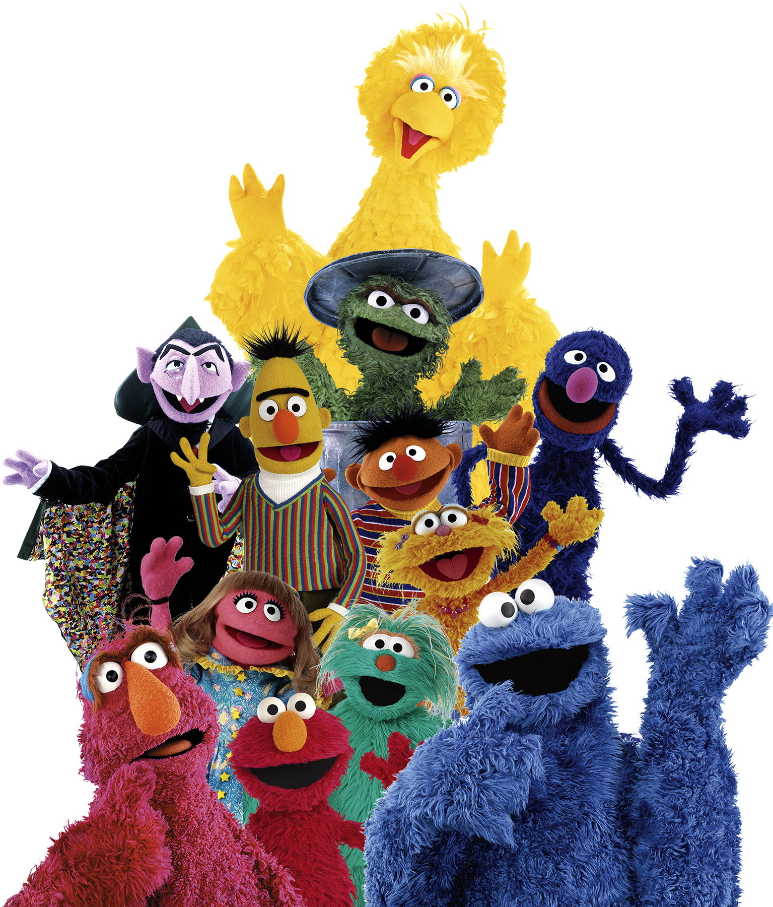 Sesame Street Characters, PBS, Sunny Days