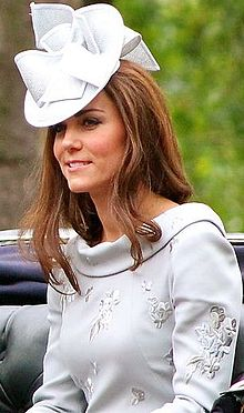 Kate Middleton, also known as Catherine, Duchess of Cambridge, is wife of Prince William, known for her royal style.
