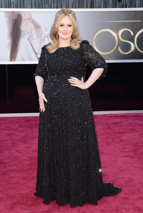 Adele at the Oscars 2013. Photo: Oscars.com