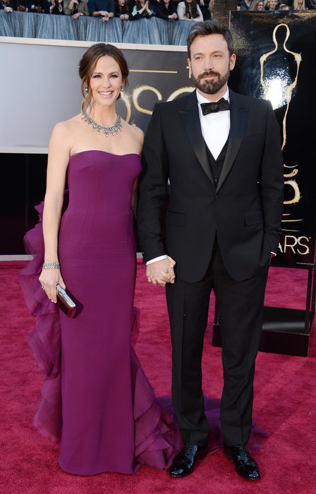Ben Affleck and Jennifer Garner at Oscars 2013