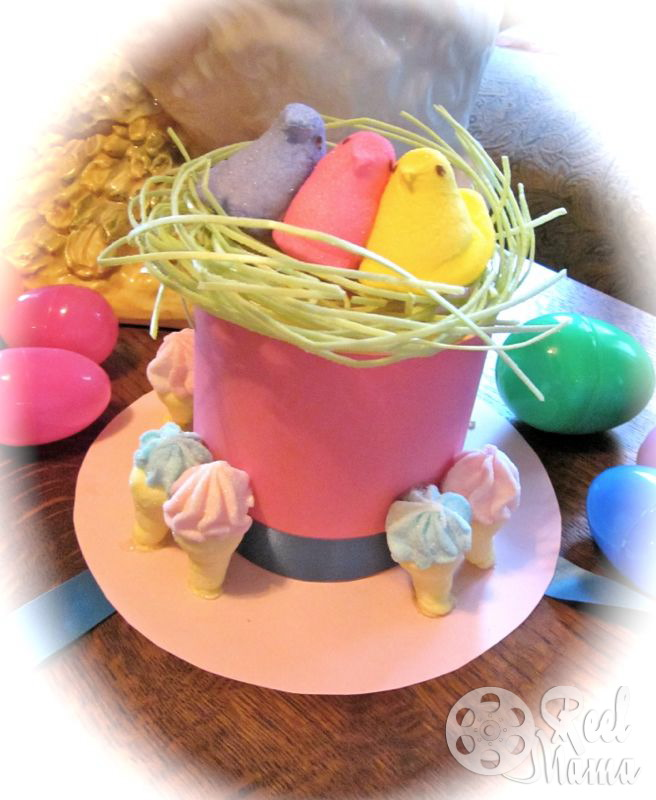 how to make an Easter Parade hat, easter parade hats, easter parade hats for kids, easter parade hats pictures, easter parade hats ideas, easter parade hats, easter parade hats for girls, easter party ideas for kids, mini top hat tutorial, easter decorating ideas