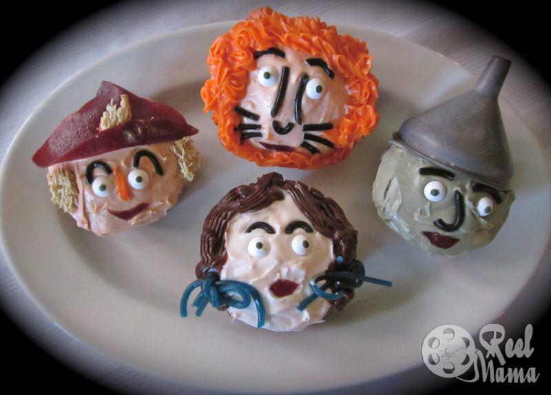 Wizard of Oz cupcakes, Wizard of Oz cupcake ideas