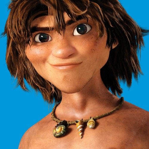Guy from THE CROODS, the croods review, the croods movie