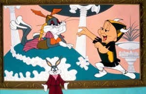 Bugs Bunny and Elmer Fudd in WHAT'S OPERA DOC?