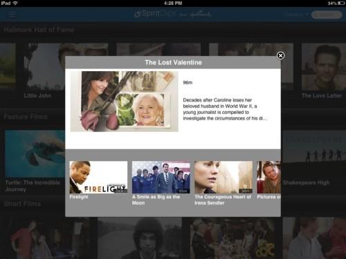 Hallmark SpiritClips film summary for family friendly online movies