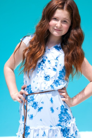 Emma Kenney stars as Marigold Girl in EPIC and as Debbie Gallagher on Showtime's Shameless
