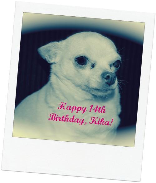 Happy Birthday Kika!