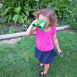 Hunting for birds and insects with Backyard Safari Field Binoculars