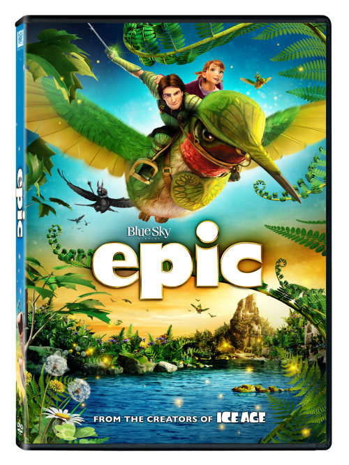 EPIC Blu Ray and DVD Cover Art
