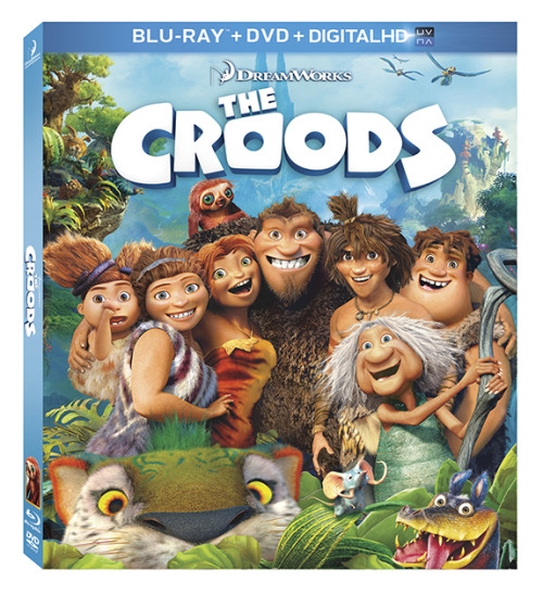 The Croods Blu Ray Cover