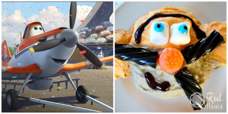 Disney Planes Dusty Crophopper cupcakes