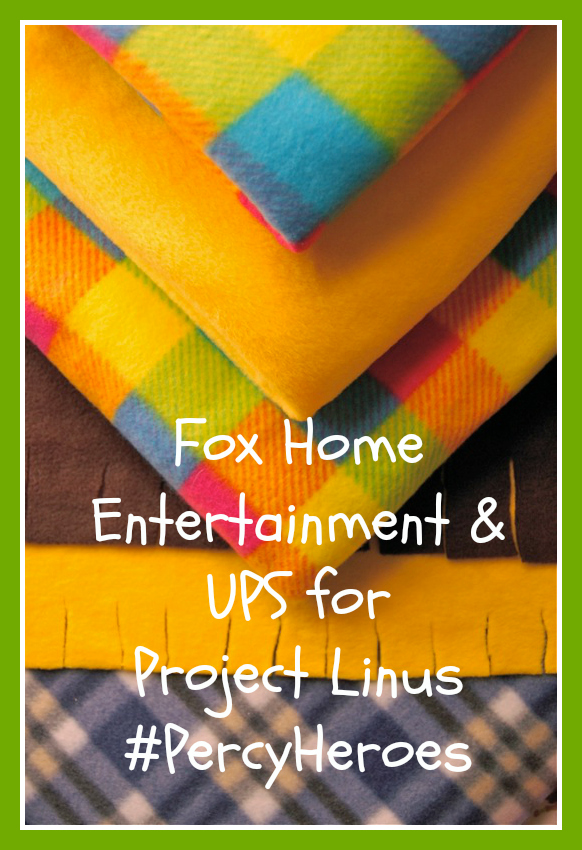 Project Linus, Fox Home Entertainment and UPS teamed up in an effort to help communities make homemade blankets for children in need.