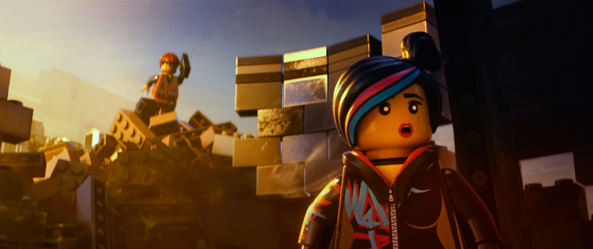 Wildstyle in Lego movie. Photo: Warner Bros. Pictures