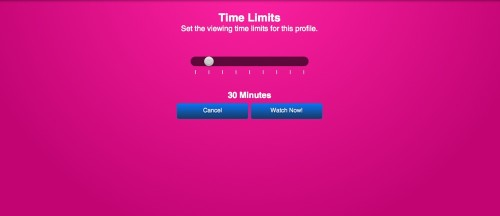 Kidoodle TV Time Limits