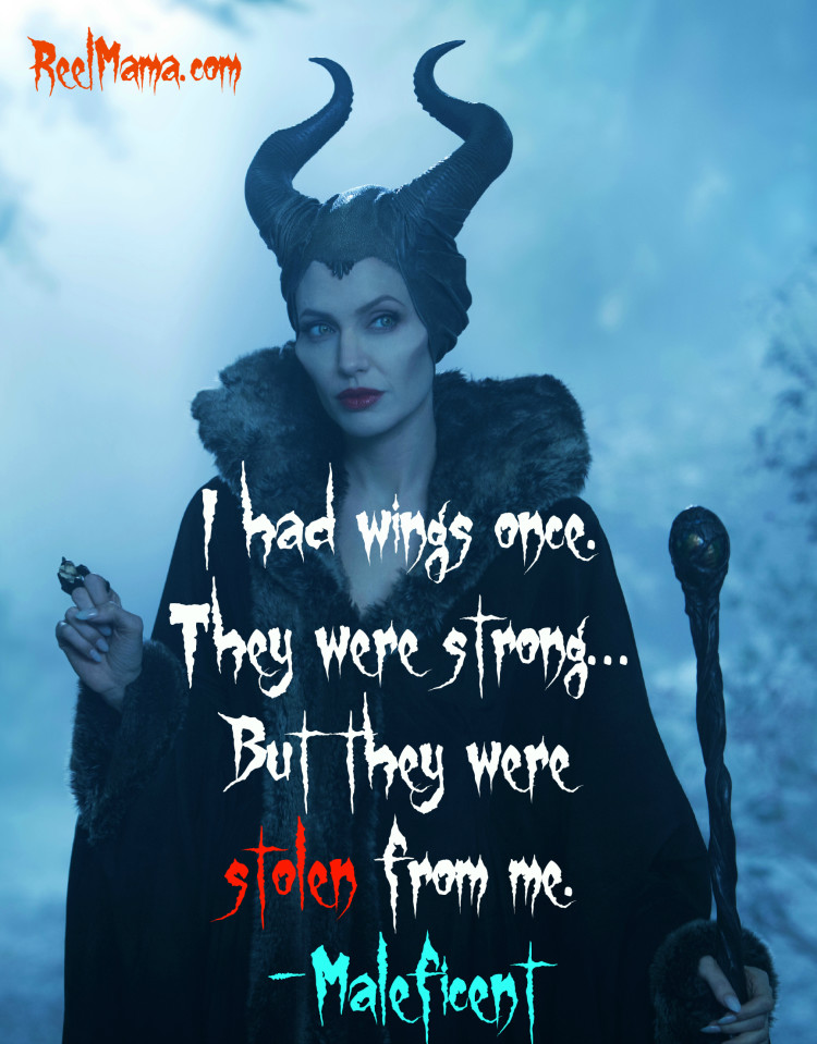 "Disney's Maleficent quote ""I had wings once"" #Maleficent"