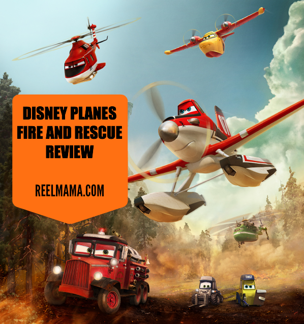 Planes Fire and Rescue Review by ReelMama.com #FireandRescue