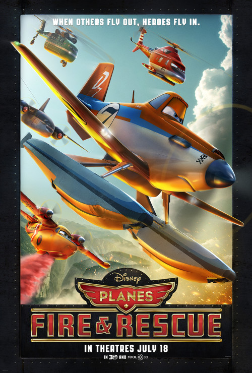 Disney Planes Fire and Rescue movie poster #FireandRescue