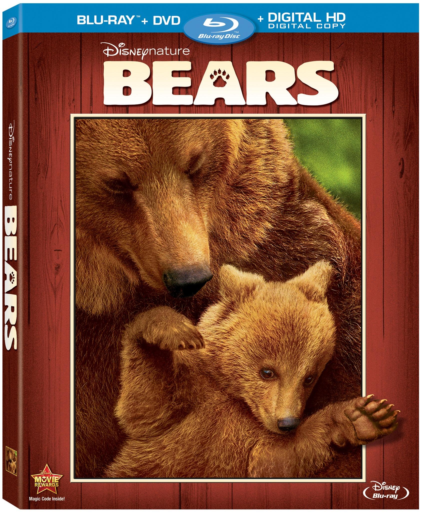 Disneynature Bears Blu Ray