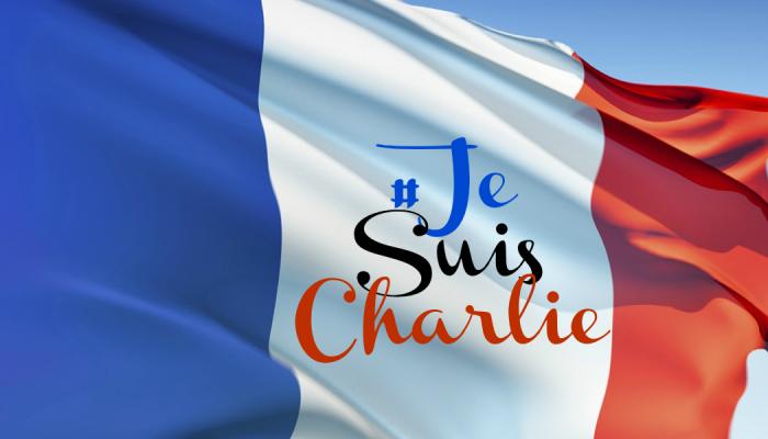 Je Suis Charlie Flag Reel Mama #JeSuisCharlie