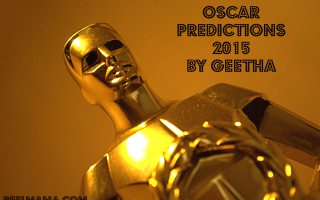 Oscar Predictions 2015 by Geetha 2